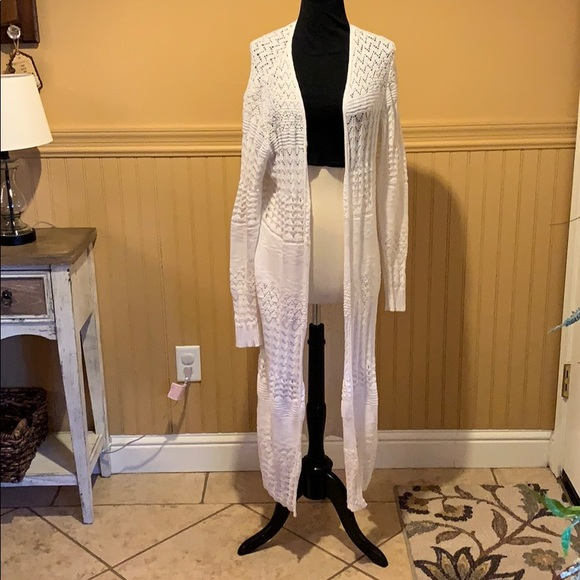 Mossimo Supply Co. Sweaters - Long sleeve long cardigan sweater